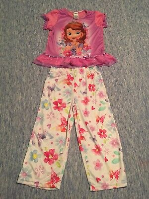 e47e1c0b2b Disney Girls Size 8 Sophia The First Silk Pjs Set NWOT pajamas