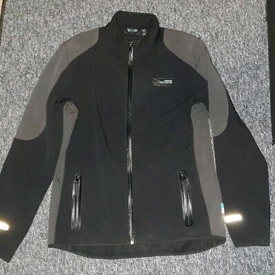 Mercedes Amg Petronas F1 Team Puma Black Soft Shell Jacket Size M