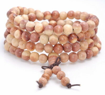 """8Mm  Rosewood Pearwood Round Loose Beads 32"""""""