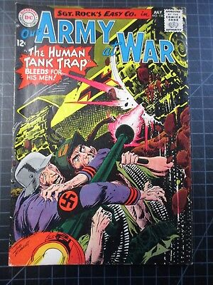 Dc Our Army At War #156 Sgt Rock 1965