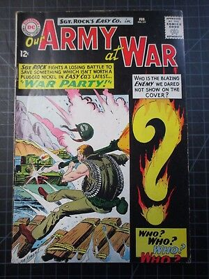 Dc Our Army At War #151 Sgt Rock 1964 1St Enemy Ace Super Key
