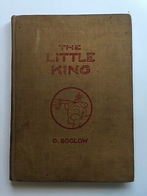 THE LITTLE KING O. Soglow 1933 HC coloring book