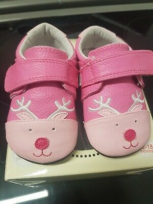 8e43510cdd02 BRAND NEW Jack   Lily My Mocs babies shoes baby girls first leather reindeer