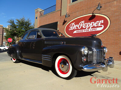 1941 Cadillac Series 62  1941 Cadillac Series 62 Deluxe Coupe V-8