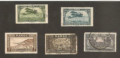 MOROCCO MAROC Lot incl. Airmail / Air Post