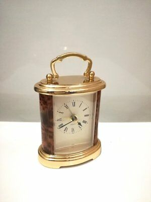 vintage small Mantle clock / carriage clock / small Clock / vintage Japan
