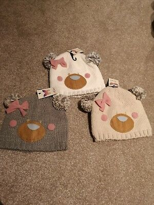 Kids winter hats , pom poms hat , Christmas hat , new with tags , offers