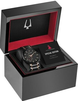 New Bulova LIMITED EDITION Men's Special Latin GRAMMY Edition Mens Watch 98A188