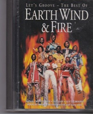 Earth Wind&Fire -Lets Groove The Best Of minidisc album