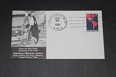 Usa 1968 Illustrated American Philatelic Society No.3  First Day Cover