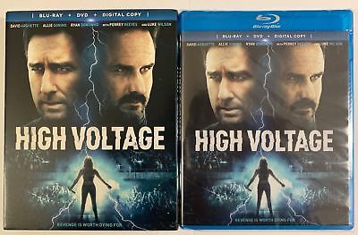New Sealed High Voltage Blu Ray Dvd Digital Copy 2 Disc Set + Slipcover Sleeve