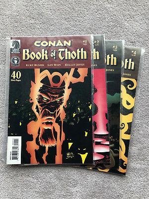 Conan Book of Thoth Complete (1-4) (2006) Kelley Jones Busiek Dark Horse