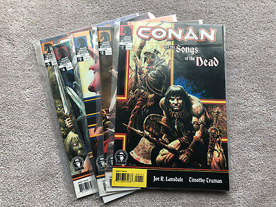 Conan Songs of The Dead (2005) Complete Mini Series Dark Horse Joe R Lansdale