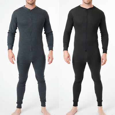 Adults Mens Thermal Underwear One Piece / Thermal All In Onsiee