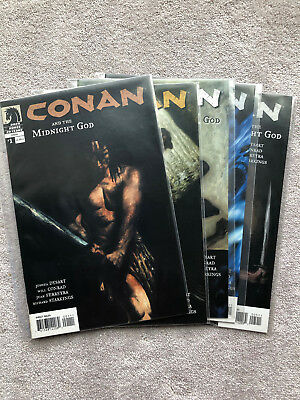 Conan The Midnight God Complete (1-5) (2007) Barbarian Schwarzenegger