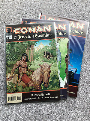 Conan Jewels of Gwahlur Complete Limited Series (1-3) (2005) P. Craig Russell