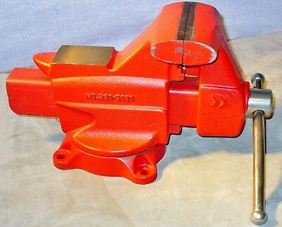 """Craftsman Swivel Base Heavy Duty Anvil Bench Vise with 5"""" Jaws-Pipe Jaws-7"""" Open"""