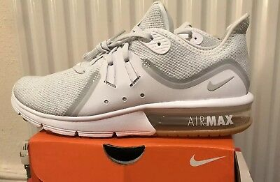 low priced 21be0 9a584 nike air max sequent 3 white Uk Size 7,5