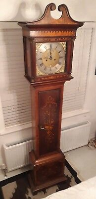 Antique K Marsden Cleckheaton Musical 8 Bell Grandfather Longcase Clock Movement