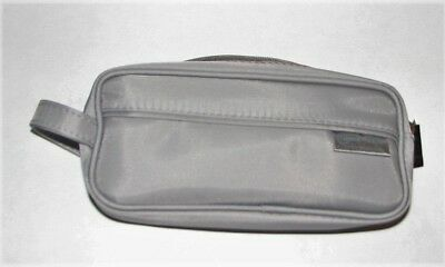Northwest KLM Airline Business Class Travel Flight Amenity KIT,  GRAY
