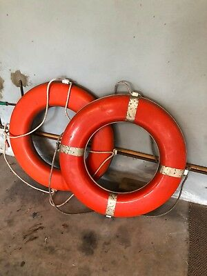 Life Buoy Ring by JN Taylor & Co- used