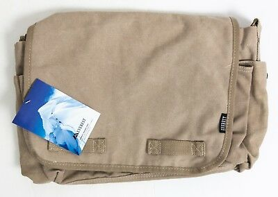 c1cfca3aa7ee EVEREST LARGE COTTON Canvas Messenger Bag - KHAKI CT-073L -  15.99 ...