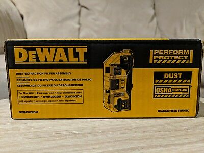 Dewalt Dust Extraction Filter Assembly DWH302DH