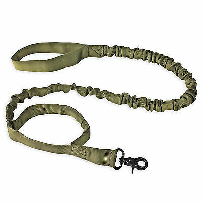 Tactical Training K9 Dog Leash Police 1000d ny Elastic Bungee US Military Canine