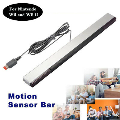 7.2FT Wired Remote Motion Sensor Bar Infrared IR Inductor for Nintendo Wii U Wii