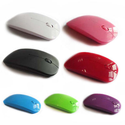 Bluetooth 3.0 2.4GHz Slim Rechargeable Wireless Optical Mouse for Laptop Rakish