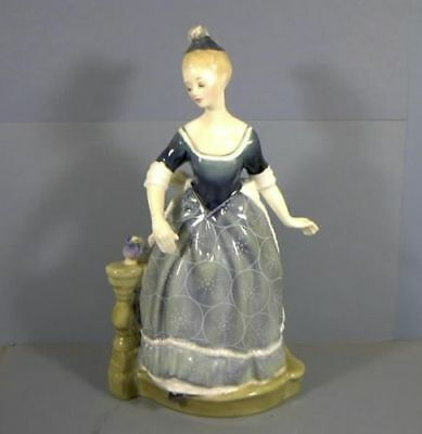 "9"" Figurine, Titled, Clarinda, HN2724, By Royal Doulton, COPR.1974, Estate Col"