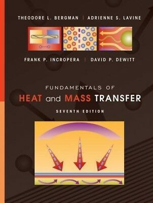 PDF!! Fundamentals of Heat and Mass Transfer. 7th Edition. BEST! #9780470501979.