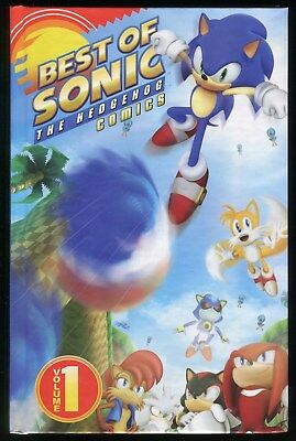 Best of Sonic the Hedgehog Comics Volume 1 Hardcover Rare HC HB Sonic Archives
