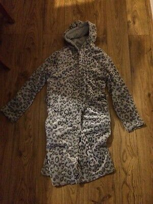 Girls Grey Dressing Gown