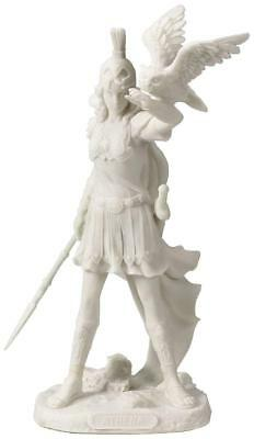 "8"" Athena Greek Goddess Of Wisdom And War with Owl Statue-Free Shipping"