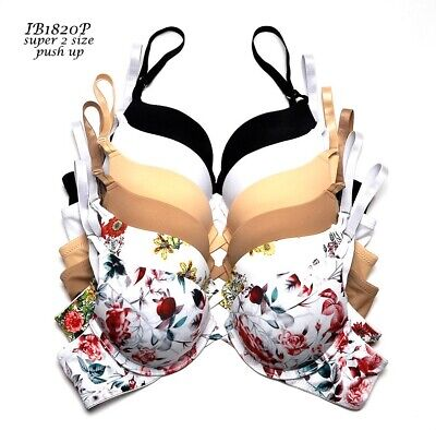 26178d3fc84 1 BRA - 3 - 6 Bras SEXY Women s MAX Lift EXTREME PUSHUPS ADD 2 CUP ...