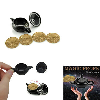 Legend Light magic trick coin thru lamp magic coin props easy to do IN