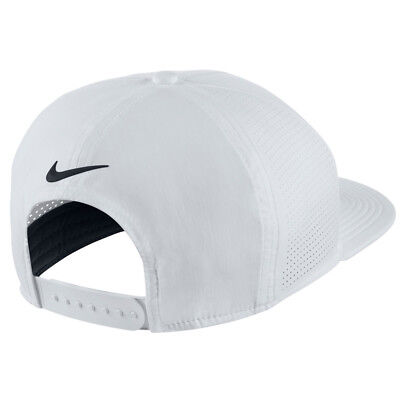 7d2eea20efb NEW 2018 NIKE Aerobill Pro Cap Perforated Black Adjustable Flatbill ...