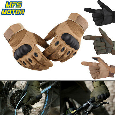 Motorcycle Touch Screen Military Paintball Tactical Gloves Combat Cycling Bike
