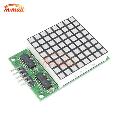 8*8 Matrix Dot Red LED Display 74hc595 Driver Module For Arduino UNO MEGA2560