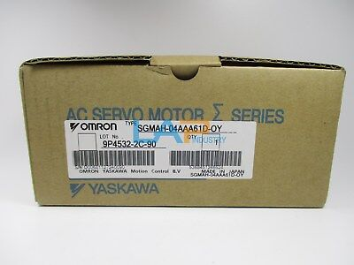 NEW IN BOX For YASKAWA SGMAH-04AAA61D-OY servo motor