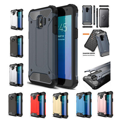 For Samsung Galaxy J2 Core Protective Hybrid Shockproof Hard Cover Silicone Case