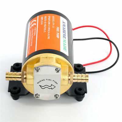 NEW! 12V Scavenge Impellor Gear Pump- Diesel Fuel Scavenge Oil Transfer AU FAST
