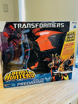 Transformers Prime Beast Hunters Fire Breath Predaking Hasbro 2014 MIB Predacon