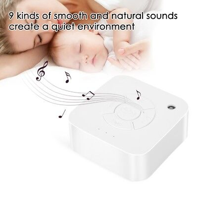 White Noise Machine Timing Shutdown Sleep Sound Relax for Baby Adult Travel Use