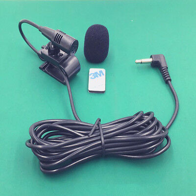 Portable 3.5mm Hand Free External Mic Microphone for Car DVD Radio Stereo Player