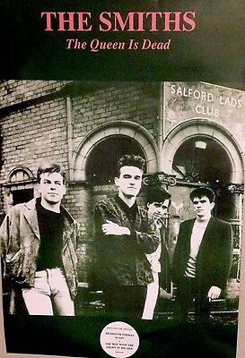 The Smiths / Morrissey The Queen Is Dead A2 Poster