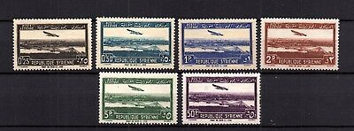 France Colonies Syrie - Complete Set Of Airplane Mh - Lot ( Syr 568)