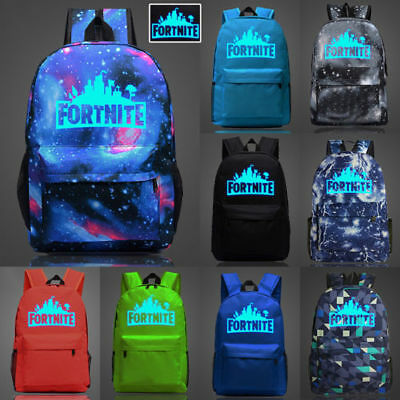 Boy Girl School Bag Battle Royal Rucksack Backpack Hiking Camping Bags UK Seller
