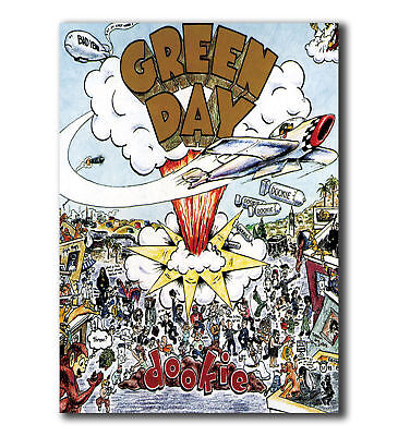 P823 GREEN DAY - Dookie Album Cover Hot Silk 24x36 27x40IN Art Poster